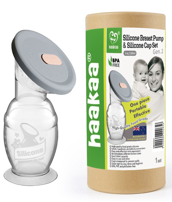 Haakaa Breast Pump and Cap Gift Pack
