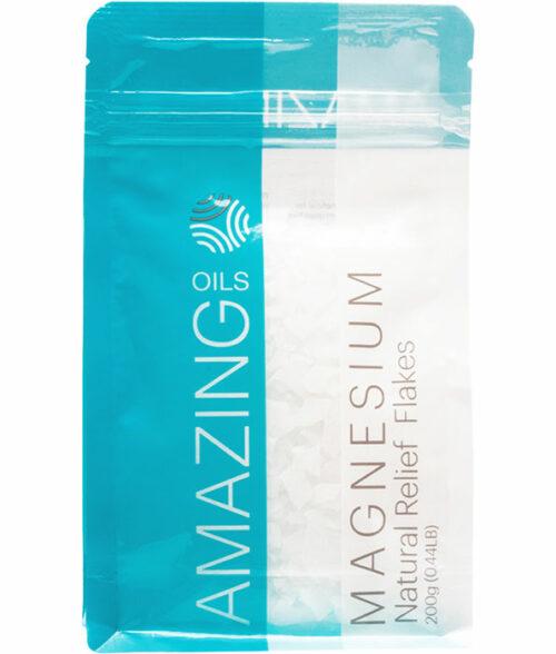 NR211 Amazing Oils Magnesium Bath Flakes 200g